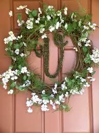 spring wreaths for front door fern u0026 dogwood spring wreath frugelegance