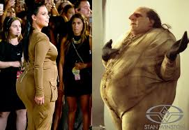 Kim Kardashian Pregnant Meme - who wore it better rebrn com