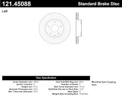 lexus rx300 brake pads and rotors 121 45088 jpg