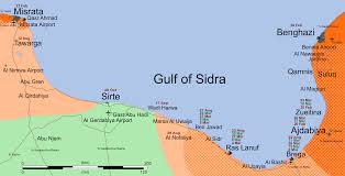 Map Of Libya Sirt Front Final Svg