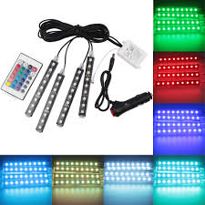 Led Strip Lights Remote Control by Online Get Cheap Car Interior Led Light Strips Aliexpress Com