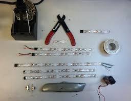 home lighting appealing battery powered led light strip kit