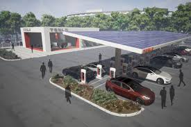 Tesla Charging Stations Map Tesla Will Double Its Supercharger Network In 2017 Curbed