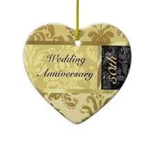 20 best 50th wedding anniversary ornament images on