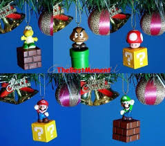 Super Mario Decorations Mario Christmas Mario Christmas Gift Ideas And Ornaments