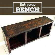 Entryway Table With Baskets Black Wood Storage Bench Mudroom Shoe Entryway Table With Baskets