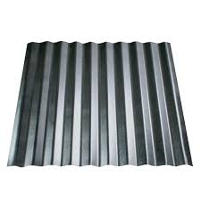 Corrugated Asphalt Roofing Panels by Metal Sales 6 Ft X 2 5 In Corrugated Utility Steel Roof Panel