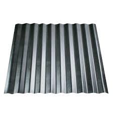 Ondura Panels by Gray Asphalt Panels Roof Panels The Home Depot