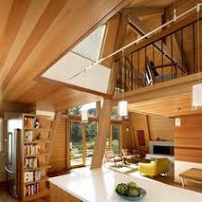 a frame house vintage cabin mid century modern and cabin
