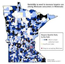 Minnesota Zip Code Map by Looking At The Numbers Low Hospice Use For Medicare Consumers In