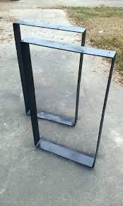 Coffee Table Legs Metal Steel Table Legs Set Table Leg Flat Steel Table Legs Pertaining To
