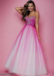pink and white prom dresses 2014 naf dresses