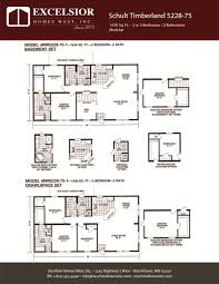 schult modular home floor plans schult timberland 5228 75 modular manufactured home