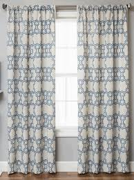 cindy crawford drapes logan linen style moroccan geometric tile curtains