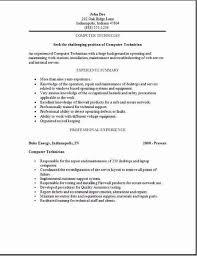 maintenance technician resume examples best general maintenance