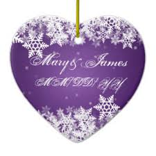 winter wedding favor ornaments keepsake ornaments zazzle