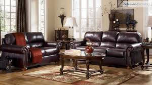 Burgundy Living Room Furniture by Deanville Burgundy Living Room Collection From Signature Design By