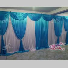 compare prices on wedding decorations blue drapes online shopping