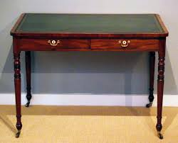 antique writing table regency mahogany library table antique