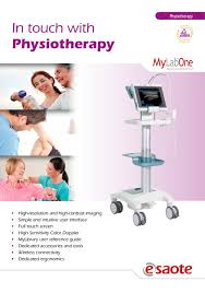 mylab one physiotherapy brochure esaote pdf catalogue