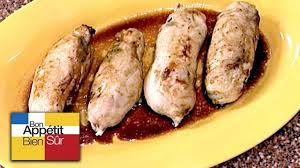 cuisiner pied de cochon recette suprêmes de pintade farcis au pied de cochon chef daniel
