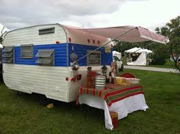 Awning For Travel Trailer Camper Going Places Doing Things Attached Awning Tutorial