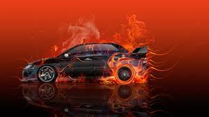 mitsubishi evo red and black mitsubishi lancer evolution jdm side fire flame abstract car 2016