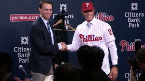 Phillies Prepare For Life Without - phillies introduce new manager gabe kapler mlb com