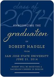 graduation time 30 announcements invitations 4 hats and