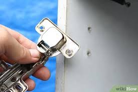 can you replace cabinet hinges 3 ways to replace cabinet hinges wikihow