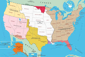 maps of united state a map of the 124 united states america that could been at us
