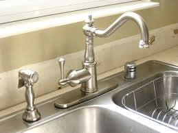kitchen faucet awesome brushed nickel kitchen faucet single
