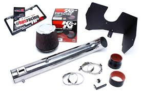 nissan frontier air filter hps cool ram air intake kit 05 15 nissan frontier 4 0l v6 polish