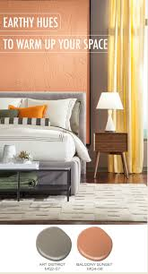 Relaxing Colors by With A Bit Of Orange In A Paint Color A Lot Of Colors Become
