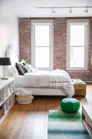 Green Bedroom Wall What Color Bedspread Best 20 Exposed Brick Bedroom Ideas On Pinterest Brick Bedroom