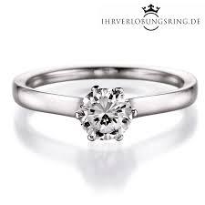 verlobungsringe in silber solitär verlobungsring royal in silber 925 mit diamant 0 60c