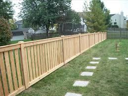 Backyard Fences Ideas Backyard Dog Fence 6 Person Dining Table