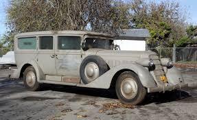barn fresh cadillac 1930 v 16 ambulance une voiture pinterest