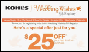 kohl wedding registry new kohls wedding registry corner cinema