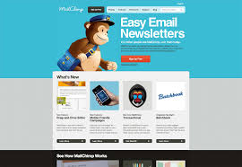 easy email newsletter templates free lovely mailchimp template