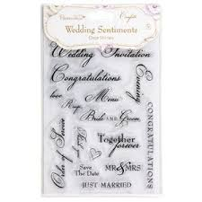 wedding sentiments papermania set of 16 clear sts wedding sentiments confetti