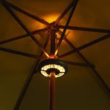 Patio Umbrella Lights Led Outdoor Patio Umbrella Light Review