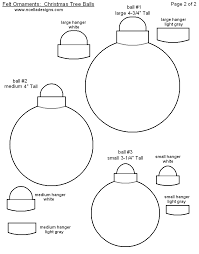 free printable ornament templates felt sew