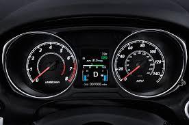 mitsubishi outlander sport 2015 2015 mitsubishi outlander sport gauges interior photo automotive com