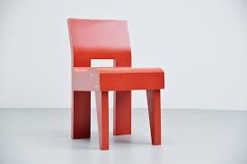 martin visser modernist chair se20 spectrum 1988 mid mod design