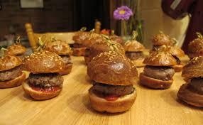 pretty tasty mini burgers a modern classic appetiser