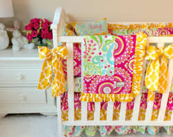 Girls Bright Bedding by Fancy Crib Bedding For Girls Luxury Crib Sets Pink And