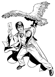 coloring page harry potter coloring page 9428 bestofcoloring com