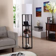 brightech store brightech u2013 maxwell usb shelf floor lamp u2013 mood