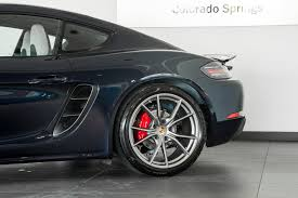 porsche night blue 2017 porsche cayman 718 s for sale in colorado springs co 17214